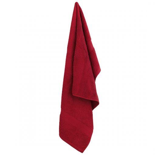 Z. Textile Burgundi frottír törölköző