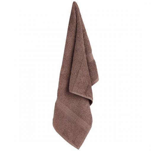Z. Textile Dohánybarna frottír törölköző