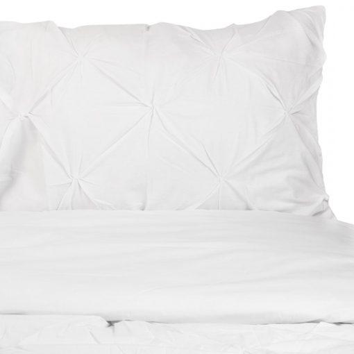 Pintuk pamut fehér ágyneműhuzat