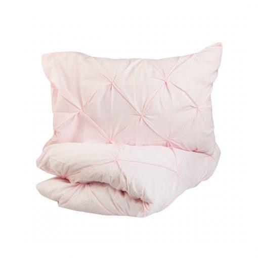Pintuk pamut rózsaszín ágyneműhuzat