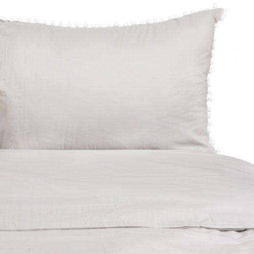 Pompom pamut ágyneműhuzat