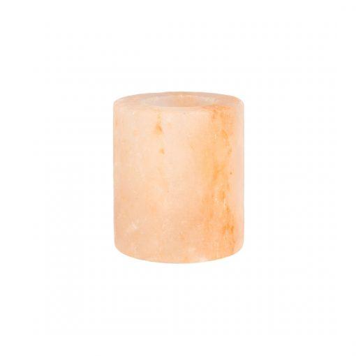 Rózsaszín henger sómécses