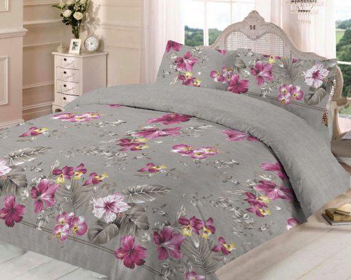 Magnolia pamut perkál ágyneműhuzat